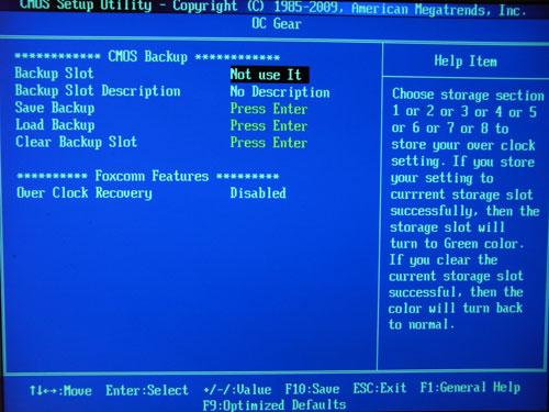 Foxconn Inferno Katana BIOS Save