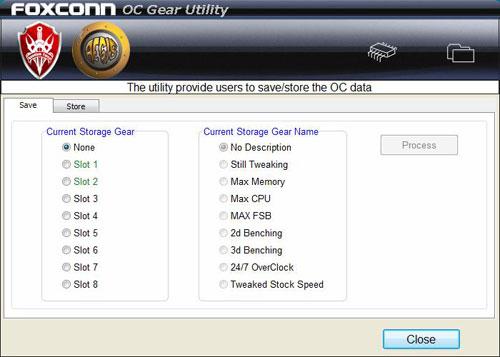 Foxconn Inferno Katana OC Gear
