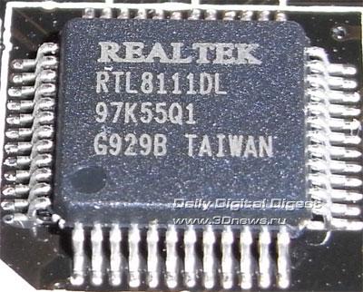 Foxconn Inferno Katana сетевой контроллер 1
