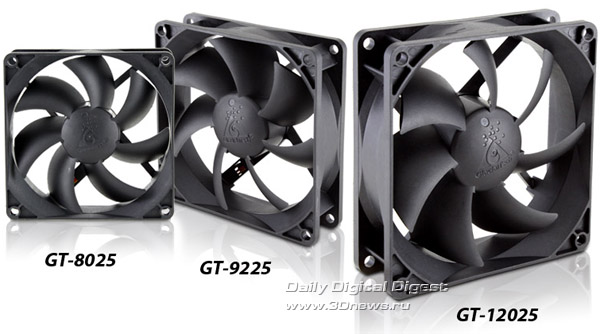 GlacialTech GT-8025, GT-9225 и GT-12025