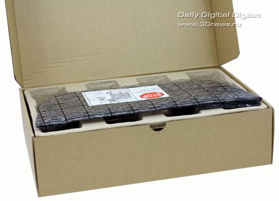 Открытая коробка Sapphire Radeon HD 5970