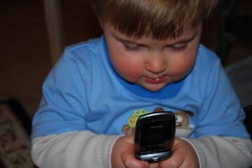 baby cellphone