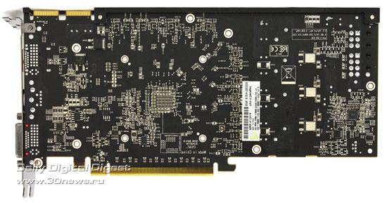 XFX Radeon HD4860 обратная сторона