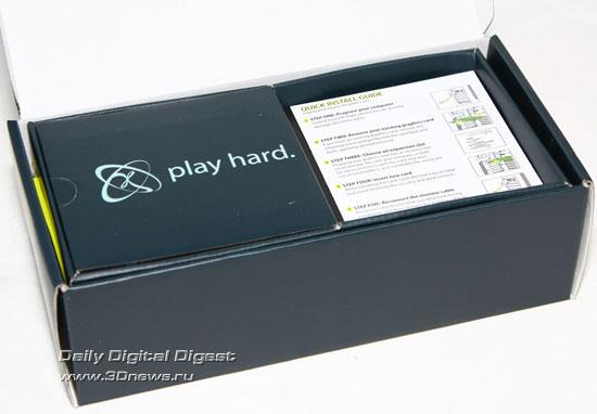 открытая коробка XFX Radeon HD4860