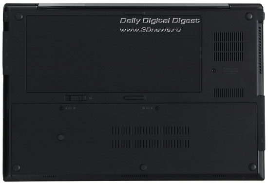 HP Probook 5310m. Вид снизу