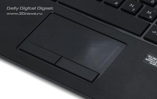 HP Probook 5310m. Сенсорная панель и индикаторы состояния