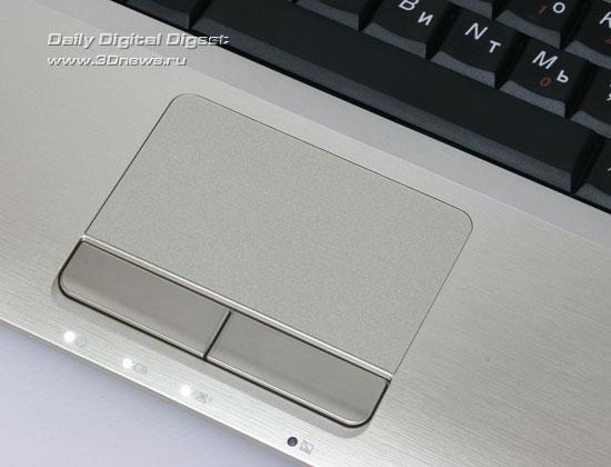 Lenovo IdeaPad U350. Сенсорная панель и индикаторы состояния