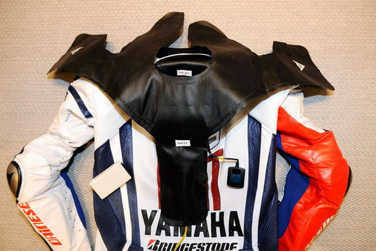 2010 Dainese D-air Lorenzo suit