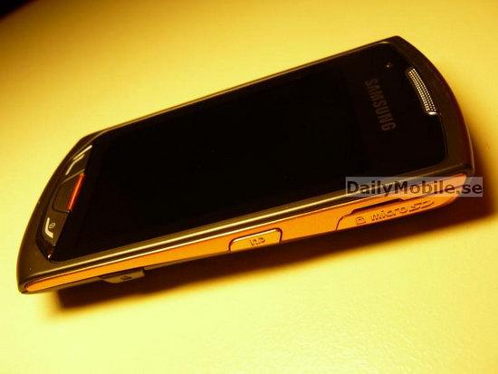 Фото дня сенсорный Samsung S5620.