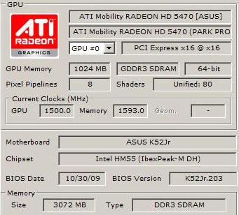Драйвера на ATI Mobility Radeon HD 5470