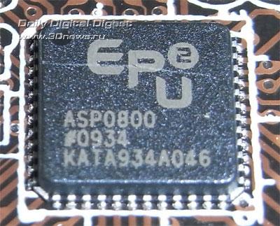 Материнская плата также поддерживает технологию ASUS OC Profile и позволяет сохранять все настройки BIOS в памяти...