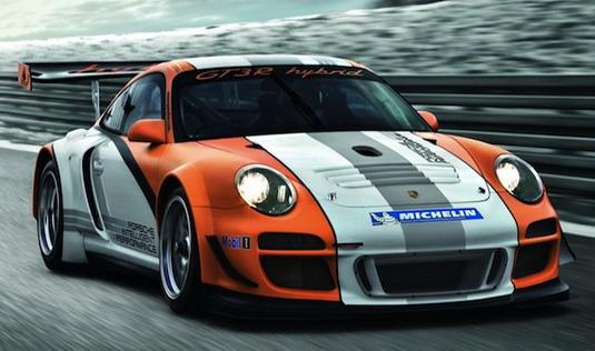 Porsche покажет гибридный болид для гонок на выносливость в Женеве