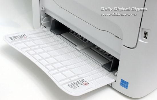 OKI MC160n. Основной лоток для бумаги