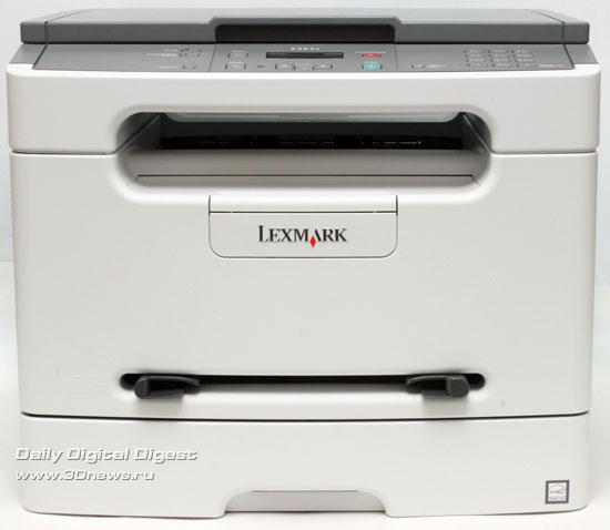 Lexmark x203n. Вид спереди