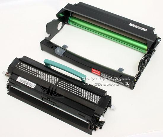Lexmark x203n. Тонер-картридж и фотобарабан