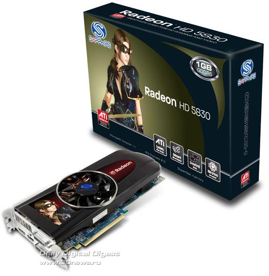 Sapphire Radeon HD 5830 1GB GDDR5