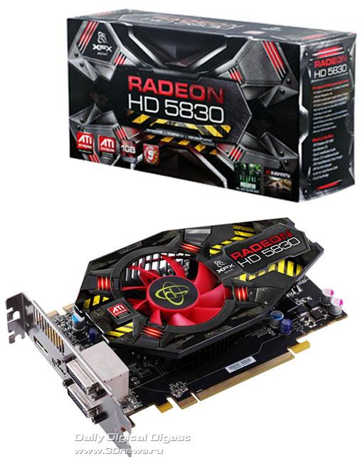 XFX Radeon HD 5830