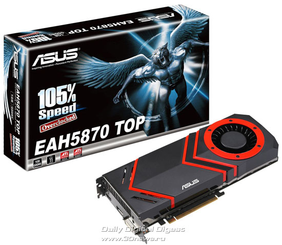 ASUS EAH5870 TOP/2DIS/1GD5