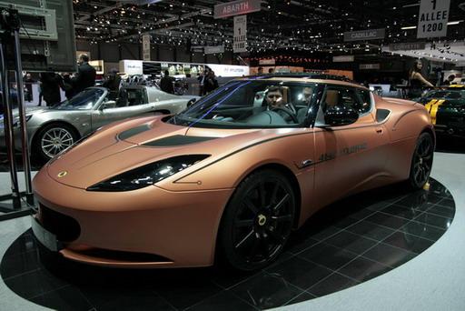 Lotus Evora 414E Hybrid concept 1