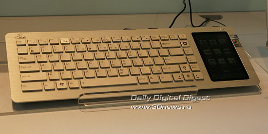 Cebit 2010: компьютер в клавиатуре от ASUS