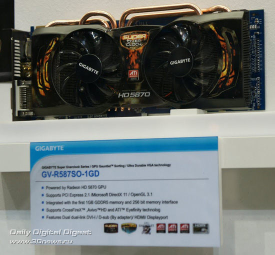 GIGABYTE GV-R587SO-1GD