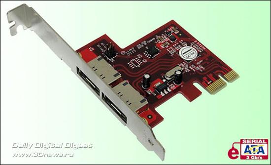 Addonics PCIe eSATA 3.0