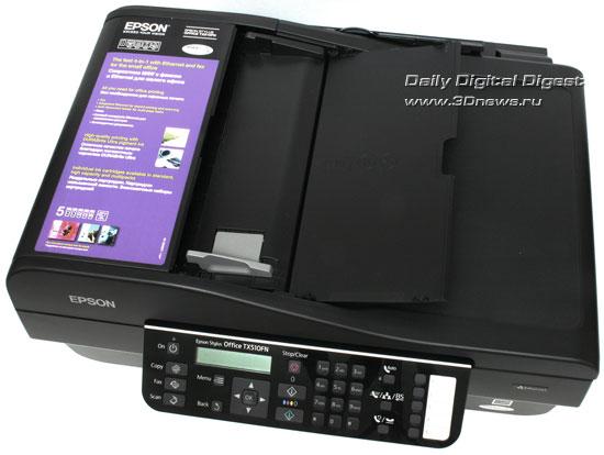 EPSON Stylus Office TX510FN. Автоподатчик документов
