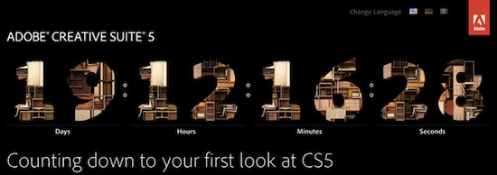 Adobe готовится к анонсу Creative Suite 5