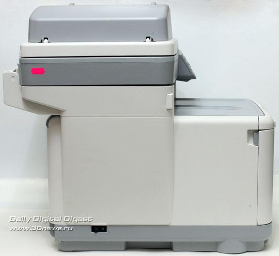 OKI  MC360. Вид слева