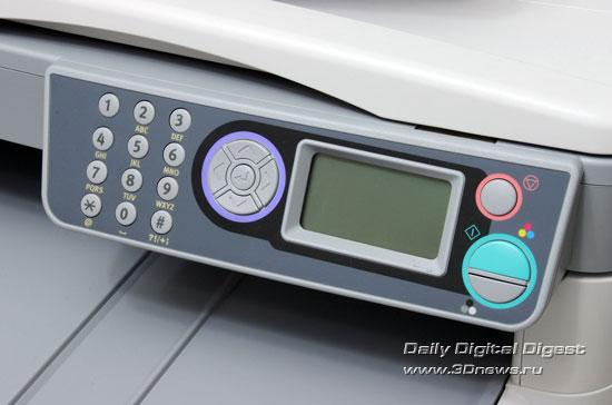OKI  MC360. Панель управления