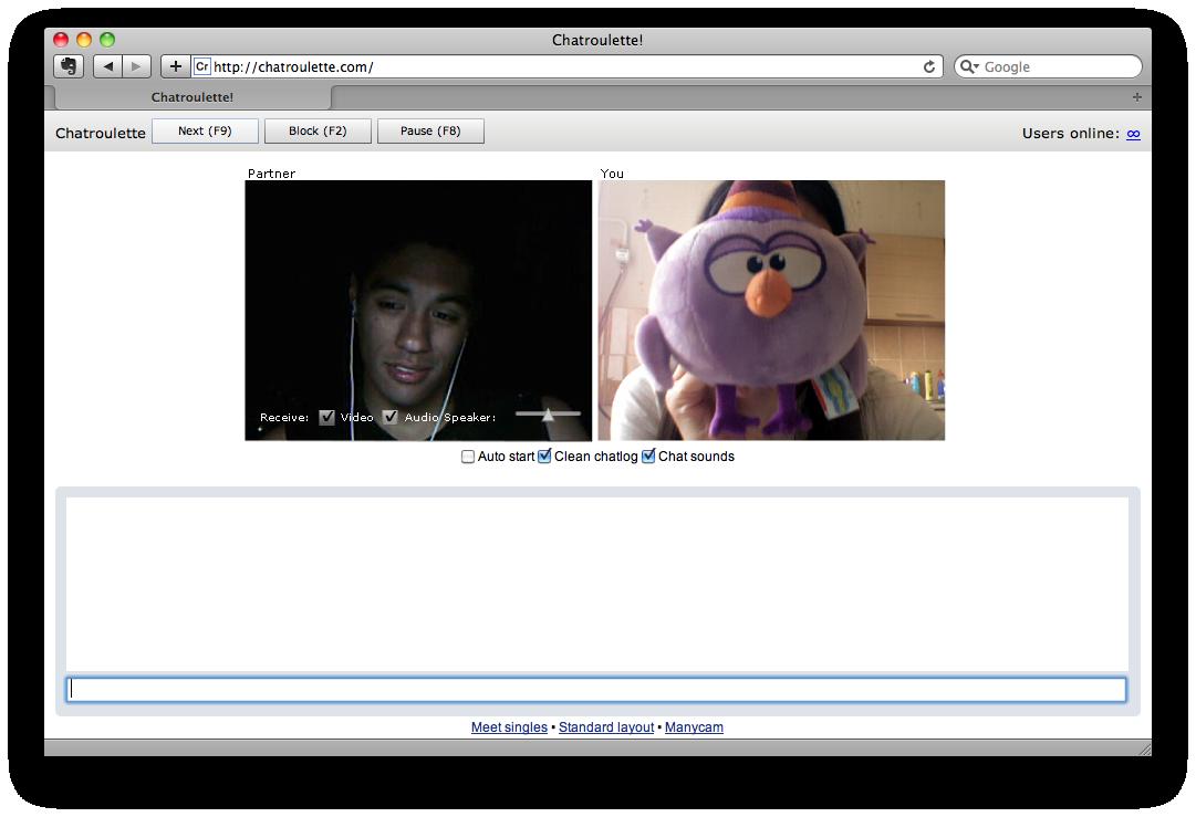 знакомства по веб камере случайный собеседник