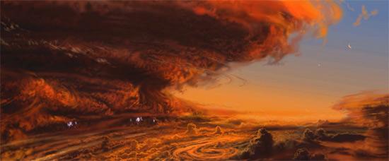 8 чудес Солнечной системы глазами художника Рона Миллера