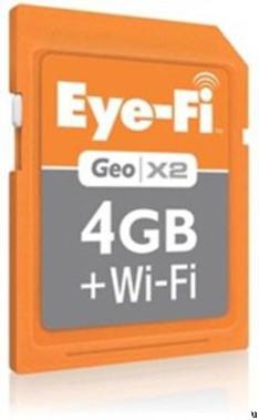 Карта памяти Eye-Fi Geo X2