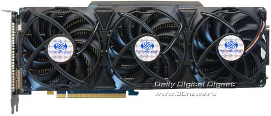 «Токсичный» вариант Sapphire Radeon HD 5970 с 4 Гб памяти GDDR5