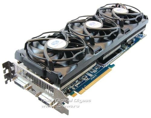 Sapphire Radeon HD 5970 4GB GDDR5 TOXIC Edition