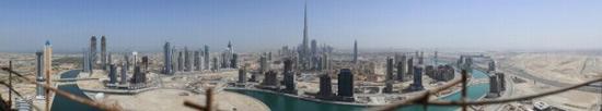 Фото месяца: 45-гигапиксельная панорама Дубая