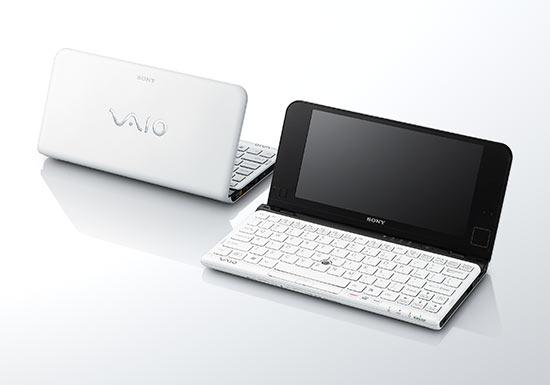 Обновлённые нетбуки Sony VAIO P
