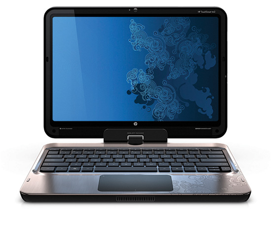 HP TouchSmart tm2 HP-TouchSmart-tm2-tablet-PC-front-facing-open-on-white-1