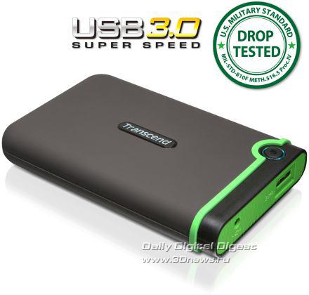 Внешний «броневинчестер» Transcend StoreJet 25M3 с USB 3.0 Transcend_StoreJet_25M3_Pic_02
