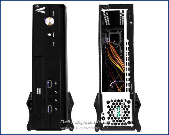Корпус APlus CS-160 под платы Mini-ITX APlus_CS-160_Pic_02