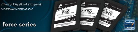 SSD-накопители Corsair Force Series: теперь до 240 Гб Corsair_Force_Series_SSDs