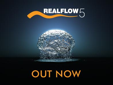 RealFlow 5: новая версия симулятора жидкости Realflow