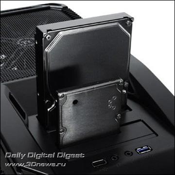 Корпус Thermaltake V9 BlacX Edition с док-станцией для двух HDD Thermaltake_V9_BlacX_Edition_Pic_05