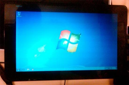 Энтузиаст установил Windows 7 на планшет JooJoo Windows-7-joojoo-tablet