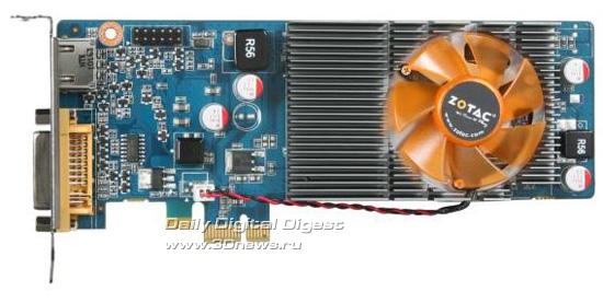 ...на печатной плате синего цвета с шиной PCI Express x1 и базируется на...