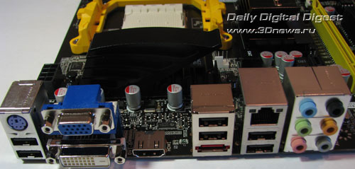 Foxconn A88GM Deluxe задняя панель