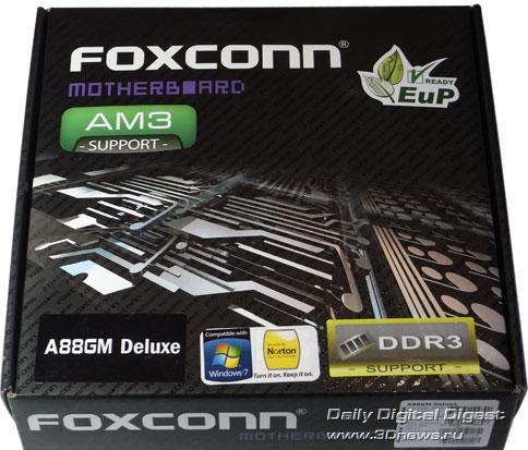 Foxconn A88GM Deluxe коробка