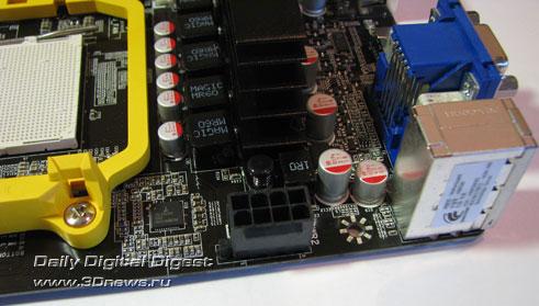 Foxconn A88GM Deluxe доп. разъем питания