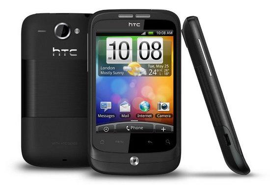 HTC Wildfire официально в России