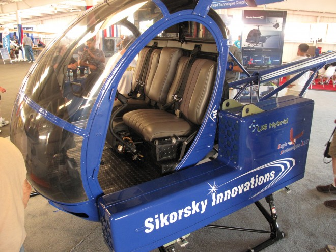 Элктрический вертолет Sikorsky Firefly